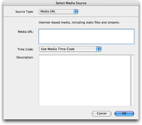 Selecting Media Sources